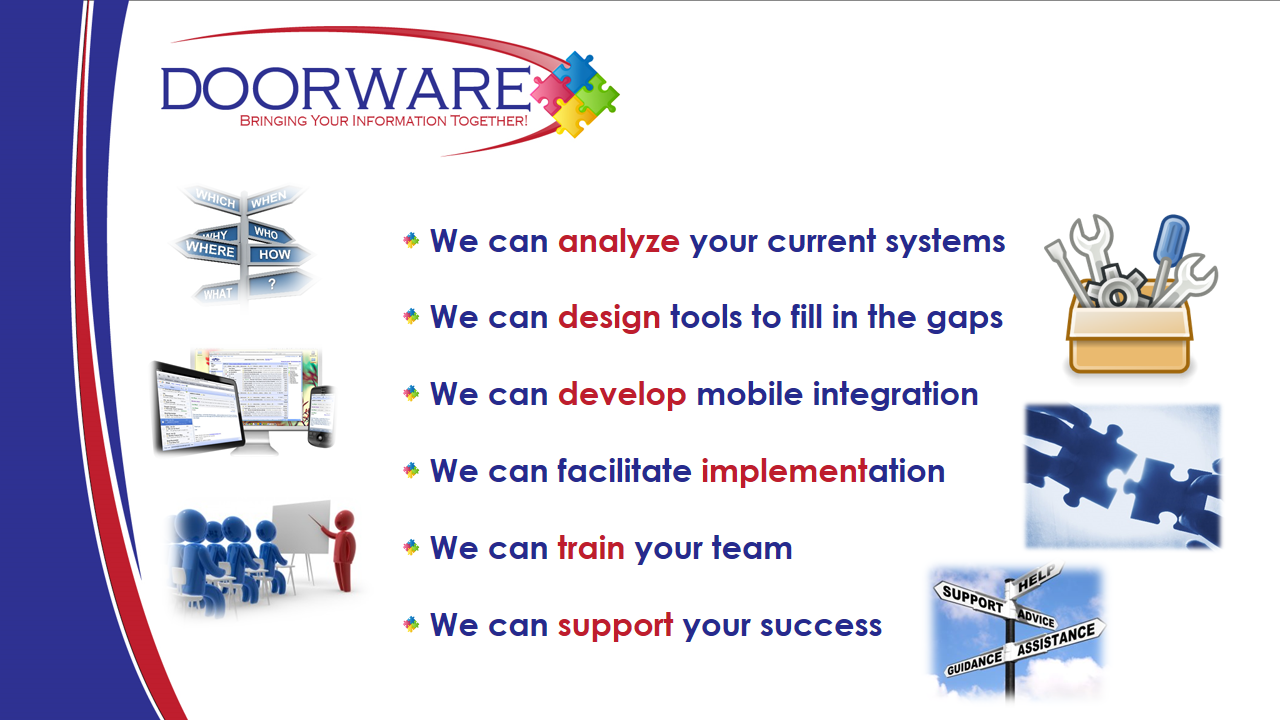 We can develop a system for you!